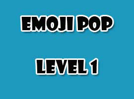 emoji pop level 1