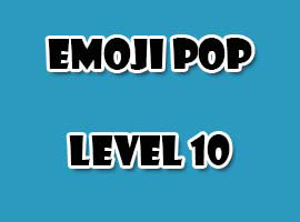 emoji pop level 10