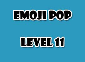 emoji pop level 11