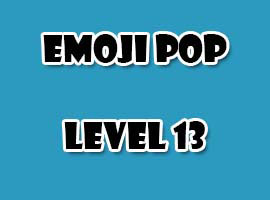emoji pop level 13