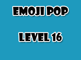 emoji pop level 16