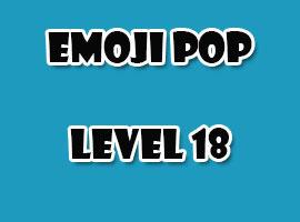 emoji pop level 18