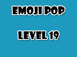 emoji pop level 19