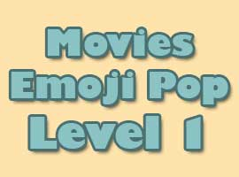 movies emoji pop level 1