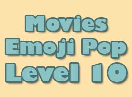movies emoji pop level 10