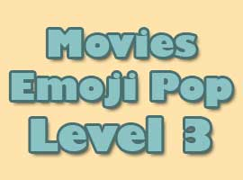 Movies Emoji Pop Answers Level 3