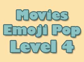 Movies Emoji Pop Answers Level 4