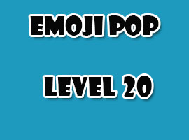 emoji pop level 20