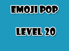 emoji pop level 20