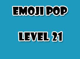 emoji pop level 21