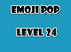 emoji pop level 24