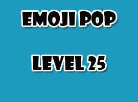 emoji pop level 25