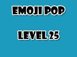 emoji pop level 25