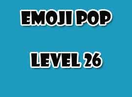 emoji pop level 26
