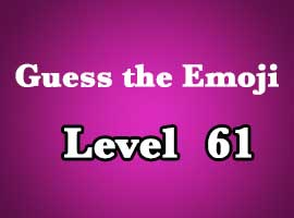 guess the emoji level 61