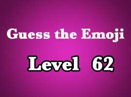guess the emoji level 62