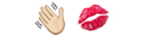 guess the emoji Level 4 Goodbye Kiss