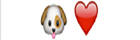 guess the emoji Level 11 Puppy Love