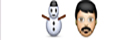 guess the emoji Level 14 Snow Man