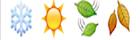 guess the emoji Level 21 Four Seasons