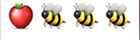 guess the emoji Level 40 Apple Bees