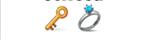 guess the emoji Level 56 Keyring
