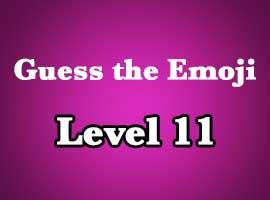 guess the emoji level 11