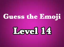 Guess The Emoji Level 14 Answers and Cheats
