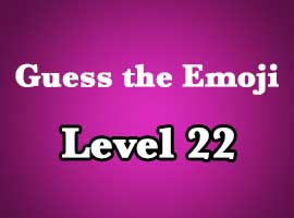 Emoji Pop Answers Level 22