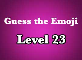 Emoji Pop Answers Level 23