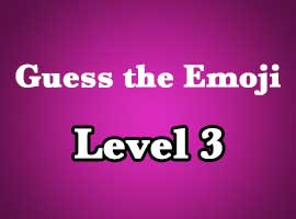 Guess The Emoji Level 3 Answers and Cheats