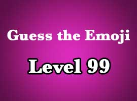 guess the emoji level 99