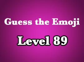 guess the emoji level 89