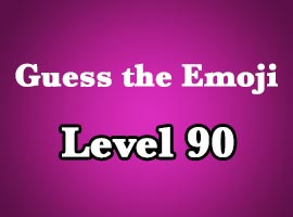 guess the emoji level 90