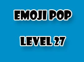 emoji pop level 27