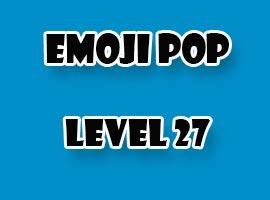 emoji pop level 27