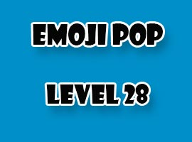 emoji pop level 28