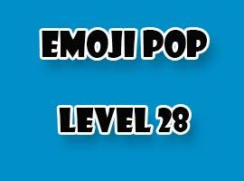 emoji pop level 28