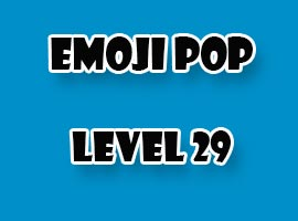 emoji pop level 29