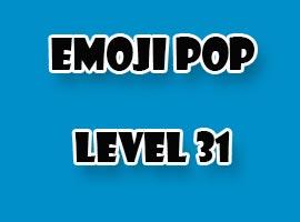 emoji pop level 31